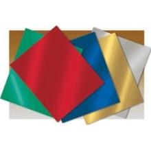 Cartulina metalizada Pliegos Unicolor
