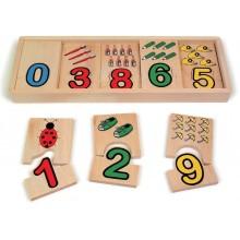 Puzzle Coordinación Números