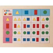 Juego de lógicas geométricas