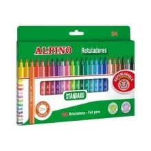 Rotuladores Alpino 24 colores