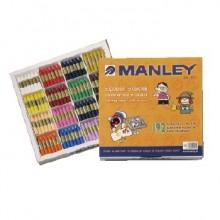 Ceras Manley estuche 192 colores