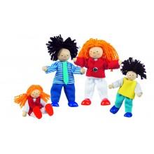 Muñecos Familia Moderna