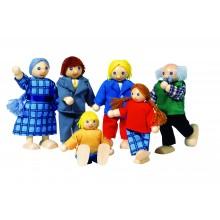 Muñecos Familia Tradicional