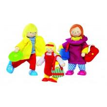Muñecos Familia de Vacaciones