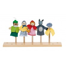 Marionetas de Dedo Caperucita (set de 4)