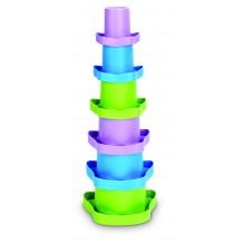 Tazas apilables (juguete ecológico)