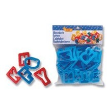 Bolsa moldes letras