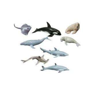 Dibujos Cuadriculados De Animales Marinos
