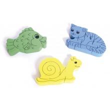Puzzles infantiles pequeños (set de 3)