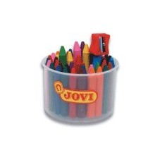 Jovicolor bote 60c + sacapuntas