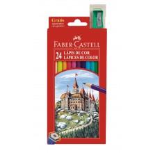 Estuche lapiceros 24 colores Faber-Castell