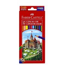 Estuche lapiceros 12 colores Faber-Castell