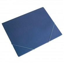 Carpeta gomas estándar con solapa