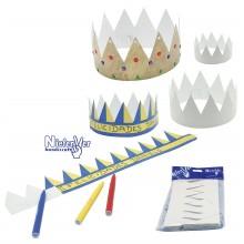 Pack 12 Coronas para decorar