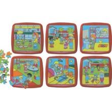 Hábitos y actividades (6 puzles)