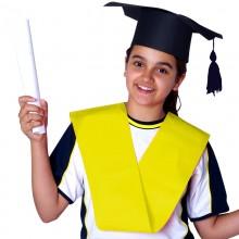 Bandas de graduación de Politextil Amarilla