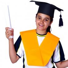 Bandas de graduación de Politextil Naranja