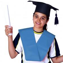 Bandas de graduación de Politextil Azul
