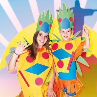 Disfraz de Carnaval de Brasil
