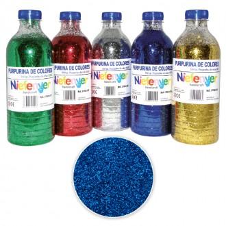 Botella de Purpurina 550 gr Azul