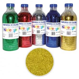 Botella de Purpurina 550 gr Oro