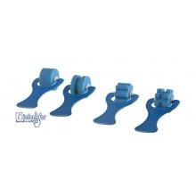 Rodillos de esponja estrechos (4 unidades)