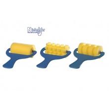 Rodillos esponja anchos (6 unidades)
