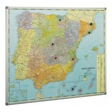 Mapa España (Mod 2) 103 x 129 cm