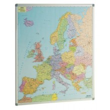 Mapa Europa 93 x 119 cm
