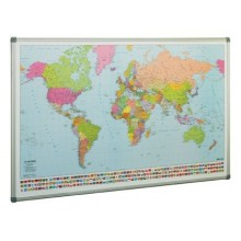 Mapa Mundo 84 x 140 cm