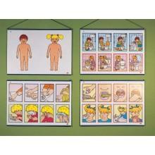 Láminas de higiene y salud
