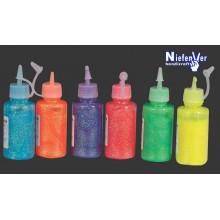 Pegamento purpurina fluorescente 60gr