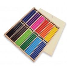 Lapiceros de Colores en caja de Madera
