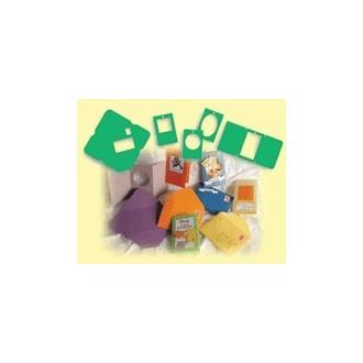 Plantillas sobres y tarjetas