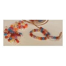 Abalorios color arcoiris
