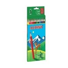 Estuche lapiceros 12 colores Alpino