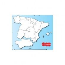 Mapa gigante de España