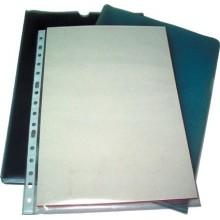 Fundas plástico Multitaladro folio - 10 fundas