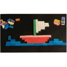 Ladrillos Mosaico para Construccion Caucho Eva