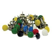 Chinchetas de colores (Caja 100 unidades)