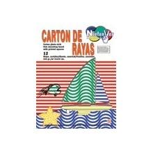 Cartones para decoración Rayas Colores Básicos