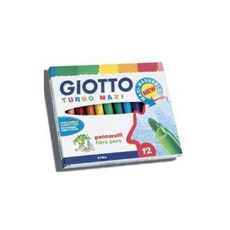 Estuche 12 colores Giotto turbo Maxi