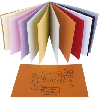 Bloc cartulina (paquete 25 unidades)