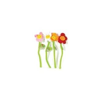 Flores Cantarinas (Set 4 Flores)