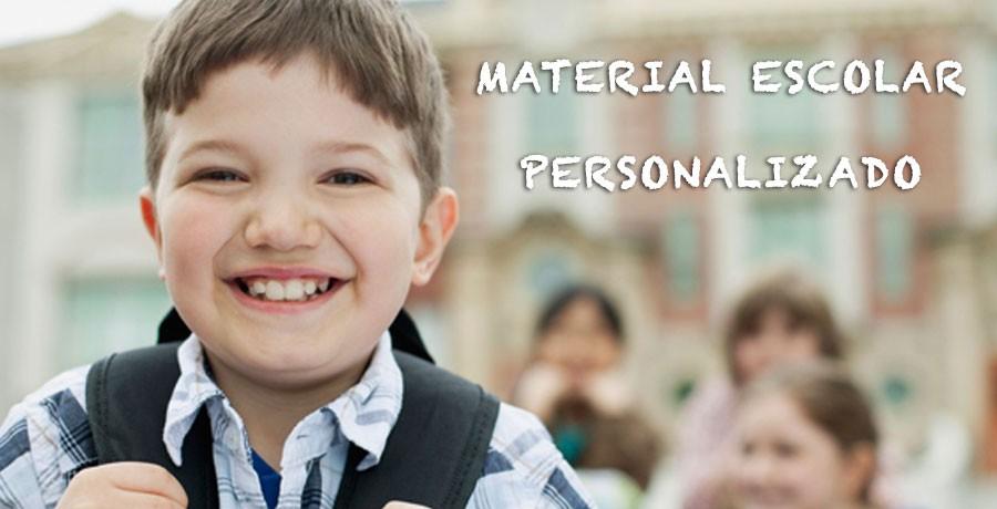 Material escolar personalizado